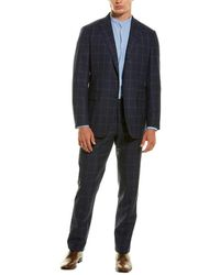 Sid Mashburn 2pc Virgil No. 3 Wool-blend Suit - Blue