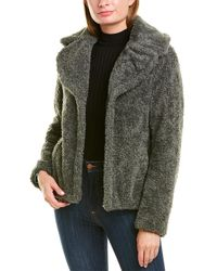 Kensie Chubby Sherpa Jacket - Green