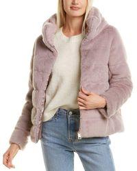 Herno Puffer Down Coat - Purple