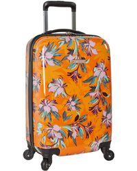 """Nine West 20"""" Expandable Hardside Spinner Carryon Luggage - Orange"""