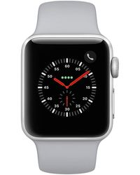 Apple Unisex Fluoroelastomer Watch - Black