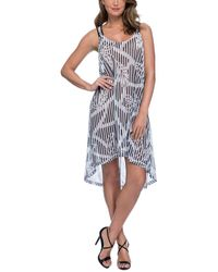 Gottex Bamboo Cover Up Dress - Multicolor