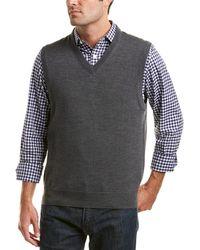 Brooks Brothers - V-neck Merino Vest - Lyst