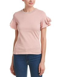 Romeo and Juliet Couture - Tiered Sleeve Top - Lyst