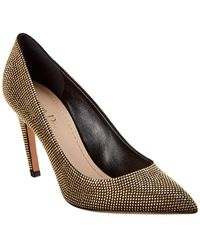 Dior Studded Leather Pump - Metallic