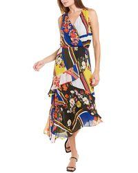 Parker Pippin Silk-blend Dress - Multicolour