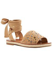 Lucky Brand - Daytah2 Nubuck Sandal - Lyst