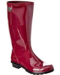 UGG Women's Shaye Rain Boot - Red