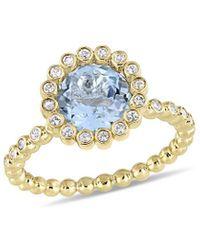 Rina Limor 10k 2.61 Ct. Tw. Gemstone Ring - Metallic