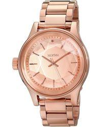 Nixon Unisex Facet Watch - Pink