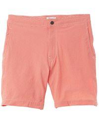 Onia Calder Swim Trunk - Orange
