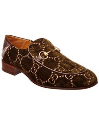 5bbdce4aa Lyst - Gucci Horsebit Loafer in Patent Leather in Green for Men