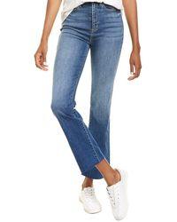Sneak Peek High-rise Straight Leg Jean - Blue