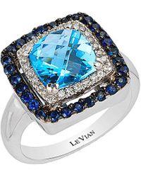 Le Vian 14k 2.75 Ct. Tw. Diamond & Gemstone Ring - Blue