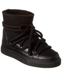 Inuikii Classic Leather Trainer - Black