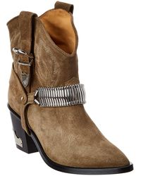 Toga Suede Boot - Natural
