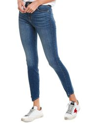 7 For All Mankind 7 For All Mankind Gwenevere Medium Blue Ankle Cut