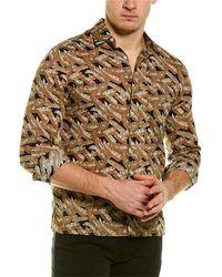 Valentino Woven Shirt - Brown