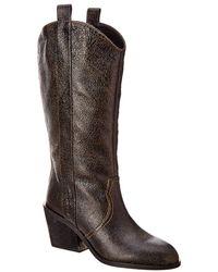 Donald J Pliner - Riot Leather Boot - Lyst