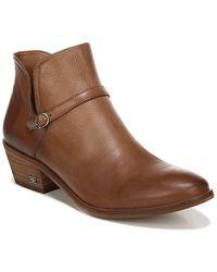 Sam Edelman Palmer Leather Bootie - Brown