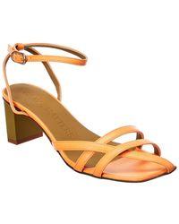 Gray Matters Mia Leather Sandal - Brown