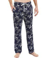 Original Penguin Lounge Pant - Blue