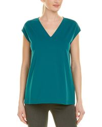Lafayette 148 New York - Relaxed Top - Lyst