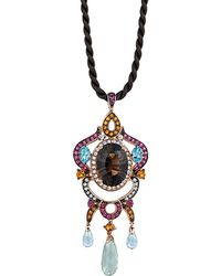 Le Vian - ? 14k Rose Gold 14.82 Ct. Tw. Gemstone Necklace - Lyst