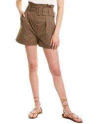 Ba&sh Kook Mini Short - Brown