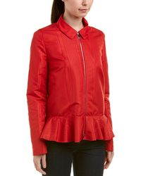 Moncler Silk-lined Jacket - Red