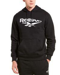 Reebok Classic Graphic Logo Hoodie - Black