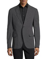John Varvatos - . Pinstripe Suit Jacket - Lyst