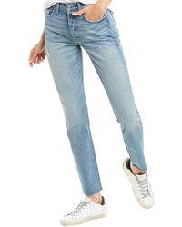 GRLFRND Karolina Real As You High-rise Skinny Leg - Blue