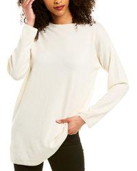 Eileen Fisher Cashmere Tunic - White