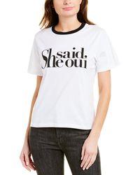 Ba&sh Wishal T-shirt - White