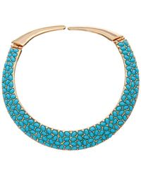 Kenneth Jay Lane - Gold Plated Necklace - Lyst