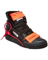 Off-White c/o Virgil Abloh - Off-white 3.0 High-top Leather Sneaker - Lyst