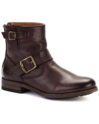 Frye - Women's Tyler Engineer Boots - Lyst