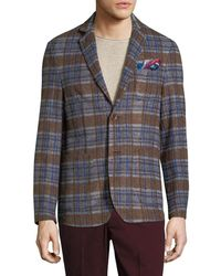 AT.P.CO - Notch Patch Chest Sportcoat - Lyst