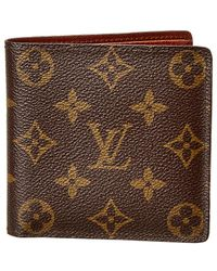 Louis Vuitton - Monogram Canvas Marco Wallet - Lyst