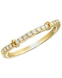 Le Vian ? Chocolatier? 14k Honey Gold? 0.15 Ct. Tw. Diamond Ring - Metallic