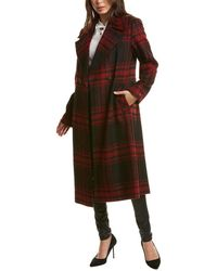 Nine West Medium Wool-blend Coat - Brown