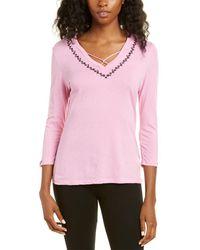 Vera Bradley Emilia T-shirt - Pink