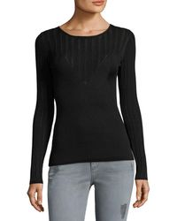Manoush - Ribbed Panel Top - Lyst
