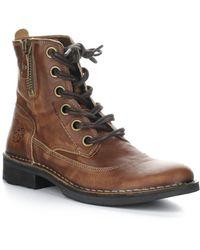 Fly London Sebta Leather Boot - Brown