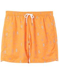 Benson Swim Trunk - Orange