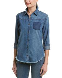 Joe's Jeans Dinna Denim Shirt - Blue