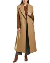 Michael Kors Wool Cape - Natural