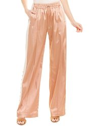 Jonathan Simkhai Colorblocked Track Pant - Pink