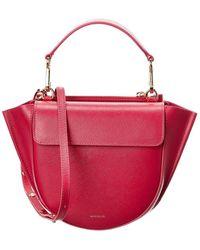 Wandler Hortensia Mini Leather Satchel - Multicolour